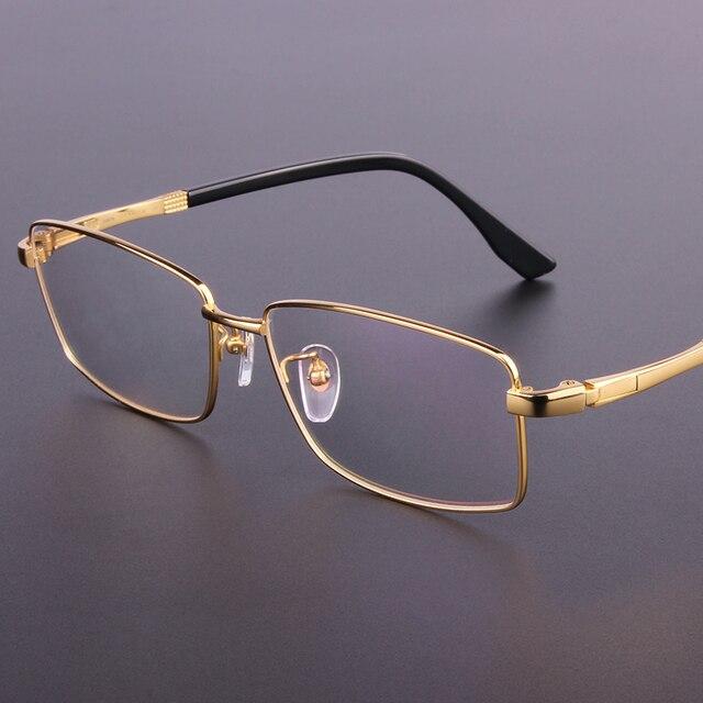 e8c05cec84 Montura de gafas de alta calidad para hombre, montura de titanio, montura  completa,
