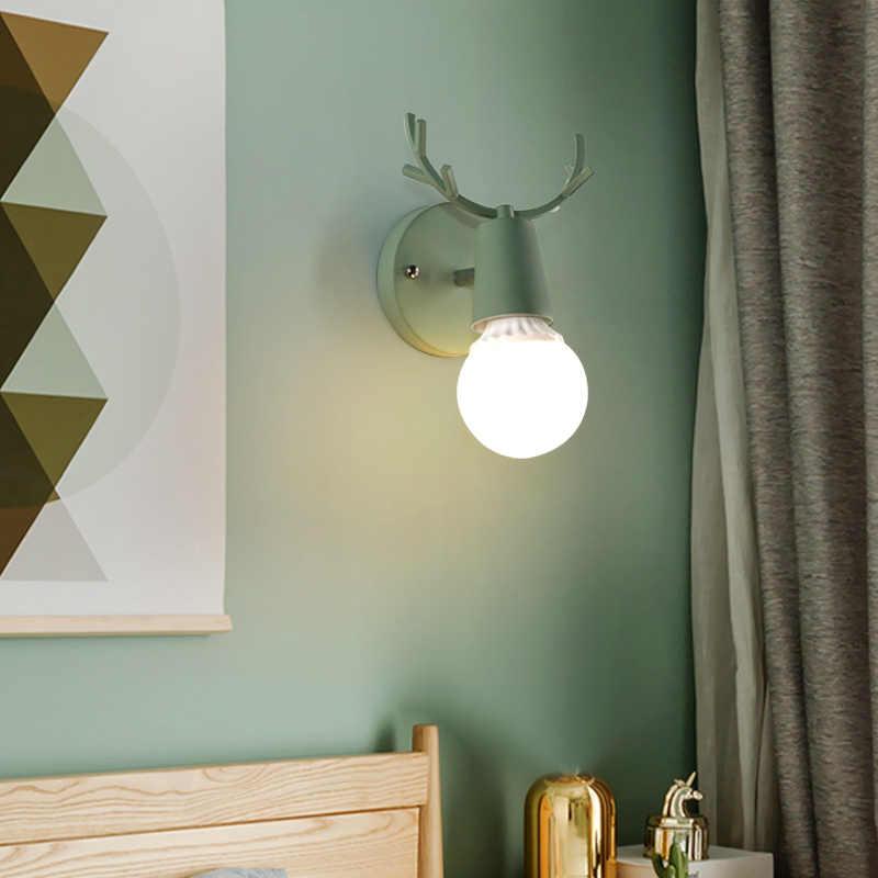 Nordic minimalizm złoty Led lampki nocne ściany zwięzłe szklane kulki badania lustro łazienka oprawy oświetleniowe darmowa wysyłka