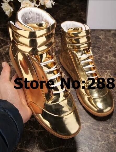 Männer Hip Hop Dance Schuhe Lace Up High Top Männlichen Casual Outdoor Schuhe Original Leder Trainer Turnschuhe Schuhe zapatos de hombre-in Freizeitschuhe für Herren aus Schuhe bei  Gruppe 1