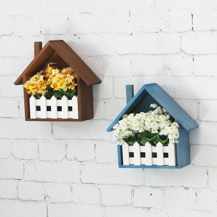Creative wall flower box wall shelf sundries storage - Home decor subscription box ...