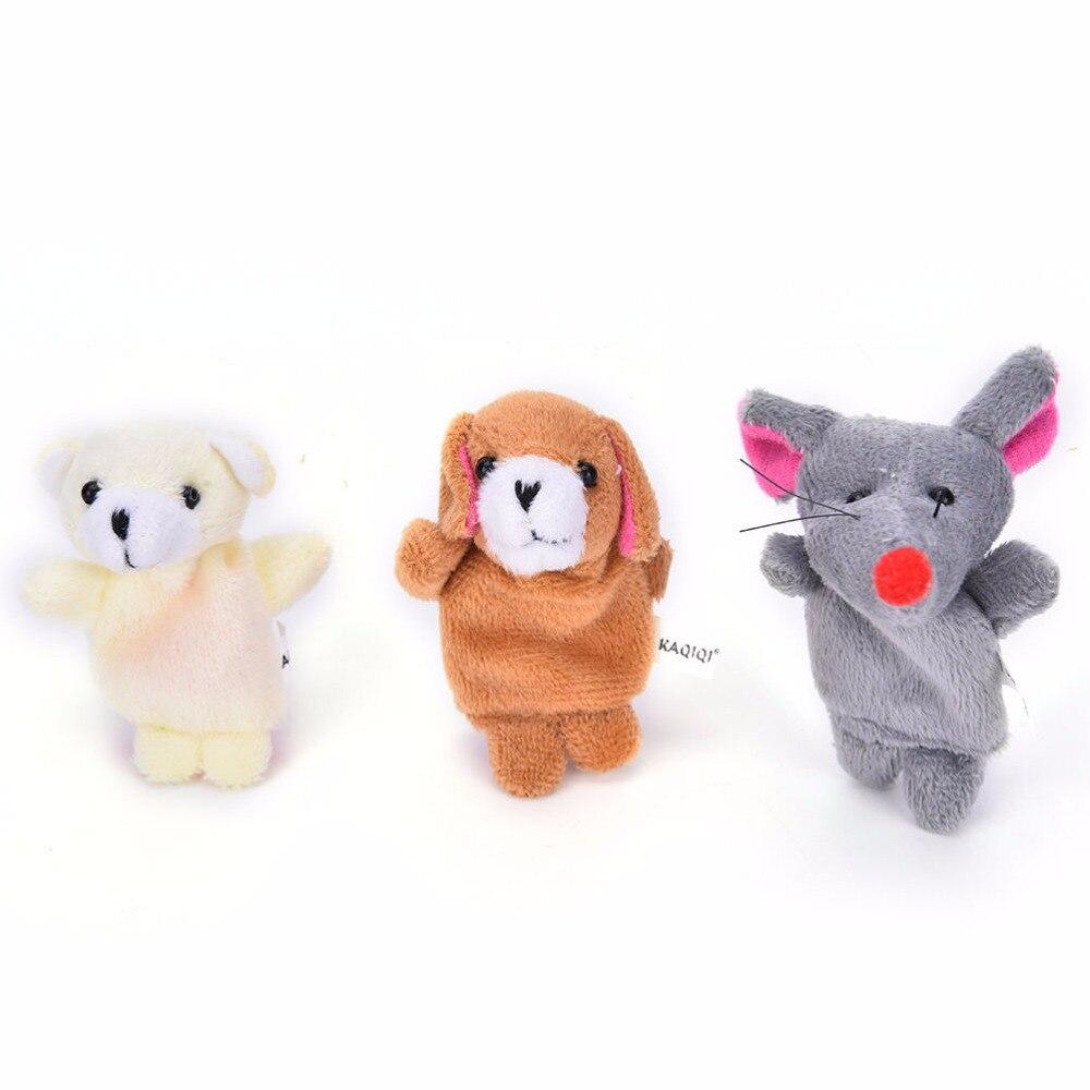 10-PcsLot-Cute-Hand-Toy-Cartoon-Animal-Finger-Puppet-Biological-Animal-Finger-Puppet-Plush-Toys-For-Childrens-Favor-Dolls-3