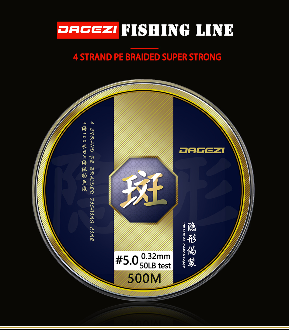 vertente pe trançado linha de pesca 25 30 40 50 80lb