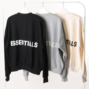 Image 1 - Qoolxcwear 2019 Mannen/Vrouwen Hoodies Sweatshirts Kanye West Fog Losse Ovesized Hoodies Essentials Hip Hop Katoen Sweatshirts
