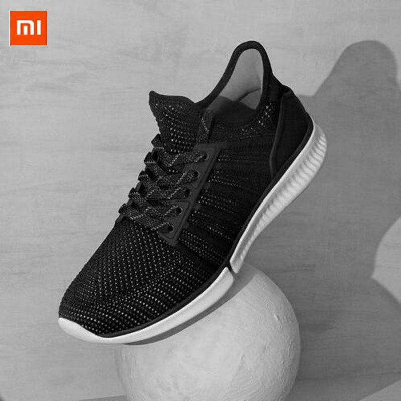 Original Xiaomi portable chaussures de course intelligentes sport professionnel mode IP67 étanche Support puce intelligente (non inclus)