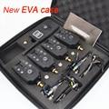 Wireless Carp Fishing bite alarm 1 + 4 set con 4 unids Hirisi libertino pesca iluminado en caso de EVA