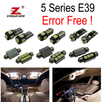 18pc X Error Free LED Interior Light Kit For Bmw E39 5 Series 525i 528i 530i