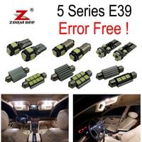 18pc X Error Free LED Interior Light Kit For Bmw E39 5 Series 525i 528i 530i