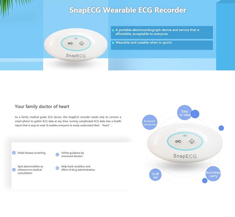 Wireless Portable Wearable EKG Monitor