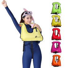 Inflatable Swim Vest Life Jacket Universal Swimming Boating Snorkeling Floating Device Drifting Surfing Water Sports Life Saving
