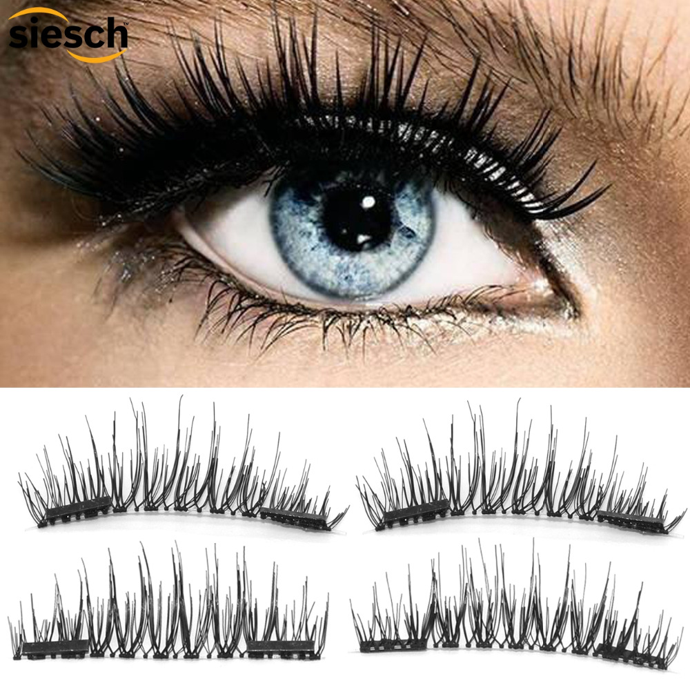 Womens New False Eyelashes 6 Pair Handmade Natural False Eyelashes Cílios Postios Al50 Beauty Essentials