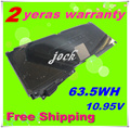 """JIGU 10.95V 63.5Wh Battery Replace For Apple A1331 A1342 For MacBook Pro 15"""" 17"""" Series"""