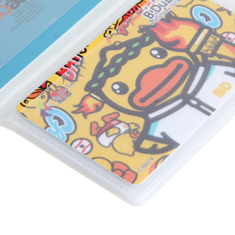 5 X 6Page 24Card Plastic Wallet Insert For Bifold Business Credit Card Holds Drop Shipping Support