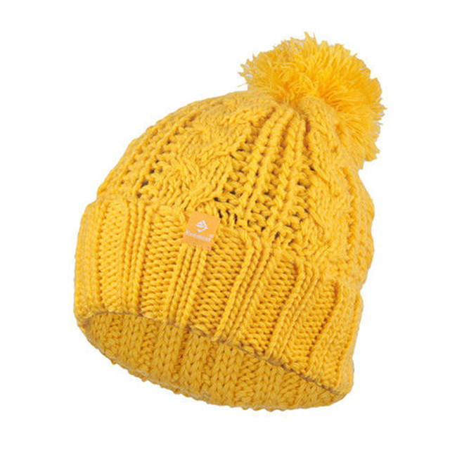 Holiday Sale Kenmont New Arrival Brand Wool Hand Knit Winter Beanie Hat  Mustard Yellow Warm Vintage 0c2ee542584