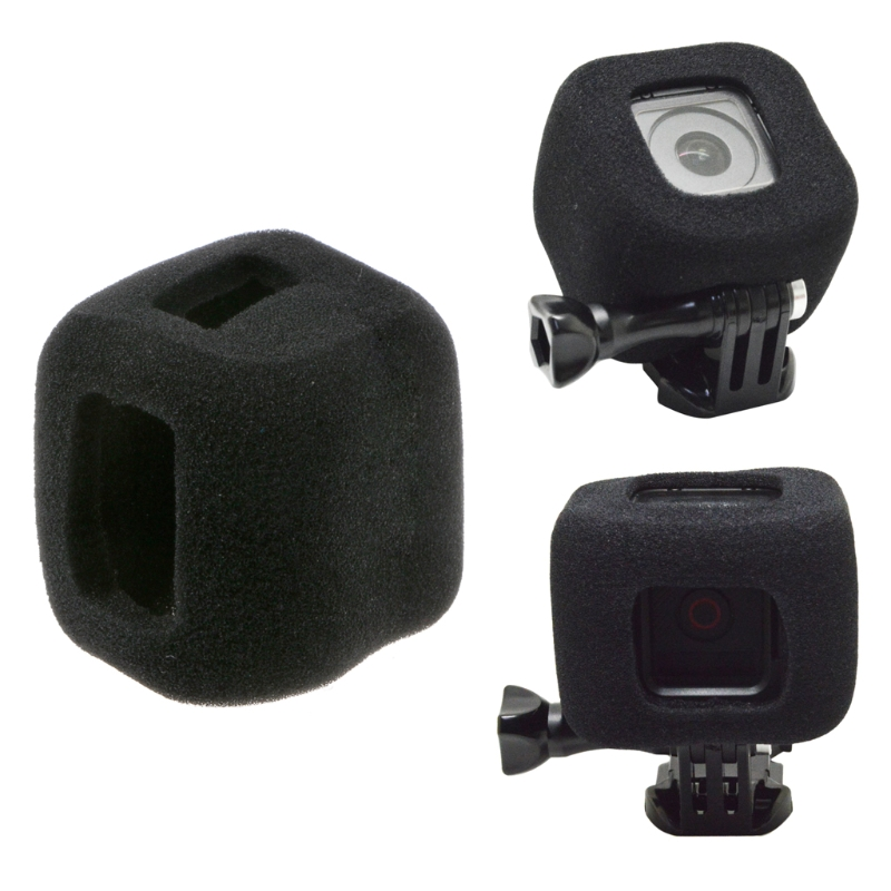OOTDTY High density foam windproof cover fit for GoPro hero 5 session For Go pro 4 session Camera AccessoriesOOTDTY High density foam windproof cover fit for GoPro hero 5 session For Go pro 4 session Camera Accessories