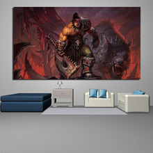 Game World Of Warcraftes HD Wall Art Canvas Posters And Prints Painting Decorative Picture For Bedroom Home Decor Artwork