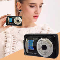 2019 New 2.4HD Screen Digital Camera 16MP Anti-Shake Face Detection Camcorder Blank 8X digital zoom With 8G Memory Card