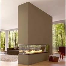 В продаже камин этанол с wifi управлением роскошный 48 дюймовый декоративный камин