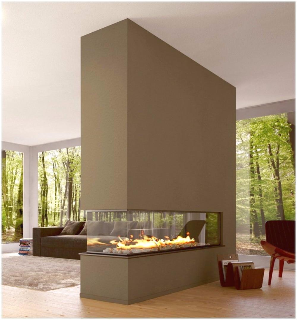 En vente cheminée éthanol avec contrôle wifi de luxe cheminée décorative de 48 pouces
