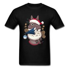Tops T Shirt Totoros Christmas Summer Fall Newest Icon Manchester City 100% Cotton O-Neck Men Shirts 3D Printed Tee