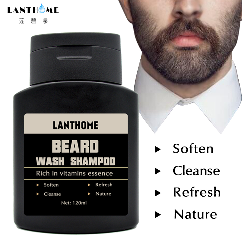 US $9 34 11% OFF|2pcs Vitamin Hair Beard Care Deep Cleansing Beard Wash  Shampoo Beard Cleaning Assistance Machine Nourishing Beard Oil Men's  Gift-in