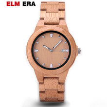 ELMERA women watches wooden montre femme zegarek damski wood