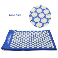 Acupressure Mat Back Body Massage Relieve Stress Tension Pain Yoga Mat For Acupressure Massage Relaxation With