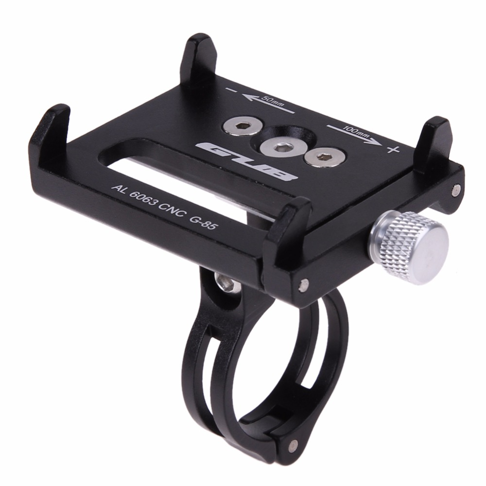 4 Color Metal Anti Slide Bike Bicycle Holder Handle Phone Mount Handlebar Extender Holder For Phone Cellphone GPS Etc