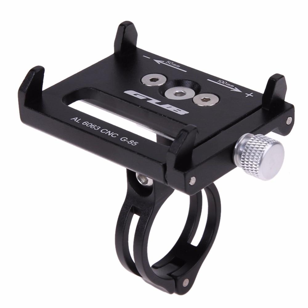 4 colores Metal antideslizante bicicleta soporte mango teléfono montaje manillar extensor soporte para teléfono móvil GPS Etc