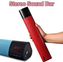 10W Bluetooth Soundbar Wireless Portable Speaker 3D Stereo Surround Column Hifi Super Bass FM Radio USB TF MP3 Music Player Y38