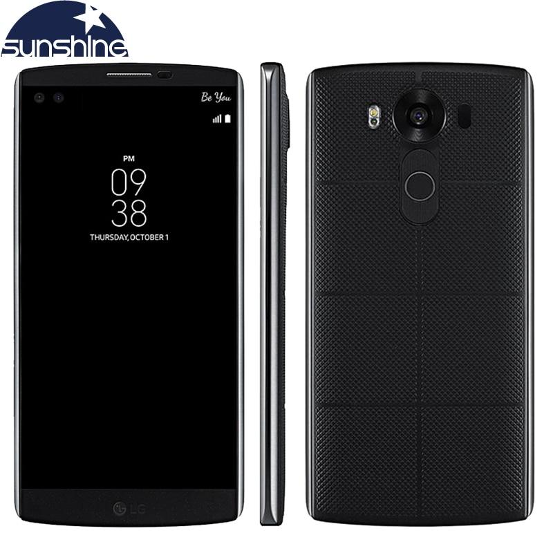 Original LG V10 4G LTE Android Mobile Phone Hexa Core 5 7 16 0MP 4GB RAM