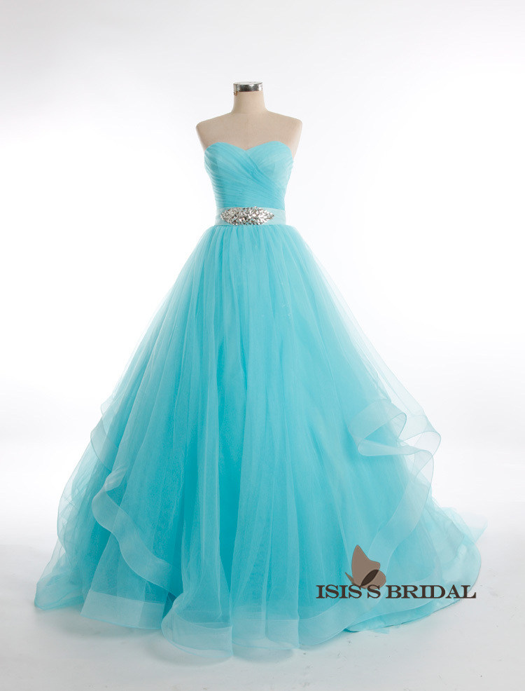Princess colorful long Crystal White black Purple Ball gown pink ...