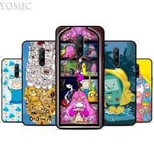 Adventure Time Comic Anime Silicone Case for Oneplus 7 7Pro 5T 6 6T Black Soft Case for Oneplus 7 7 Pro TPU Phone Cover