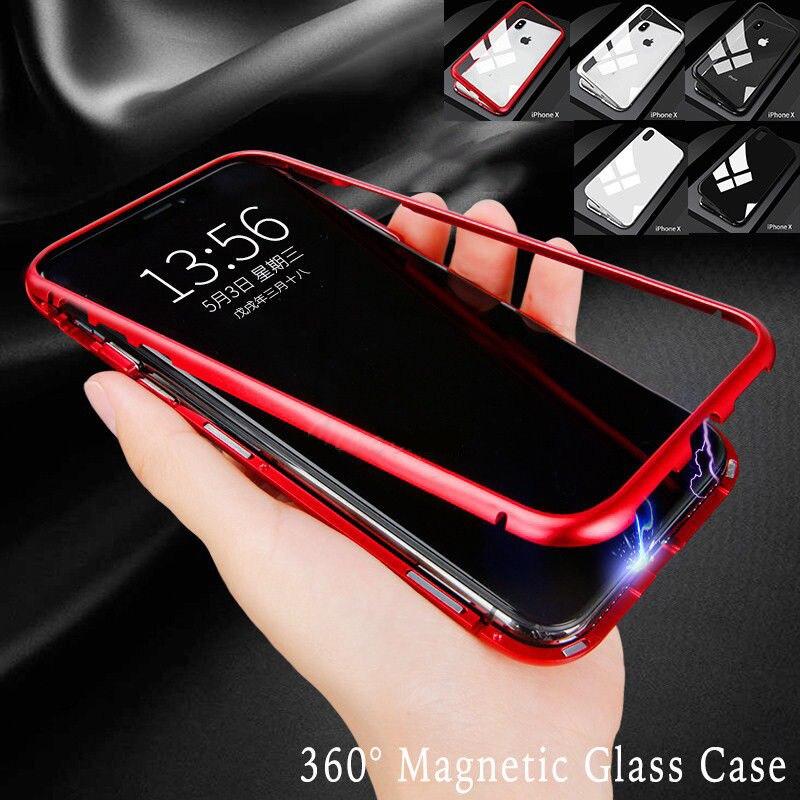 Magnetico Cassa Del Telefono Per Samsung Galaxy Per il iphone Per Huawei Coque Il Link Per Il Cliente Speciale