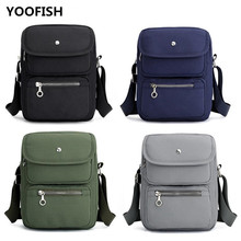 YOOFISH Mens Simple fashion messenger bags shoulder bag Hot sale canvas classic leisure student free shipping XZ-139.