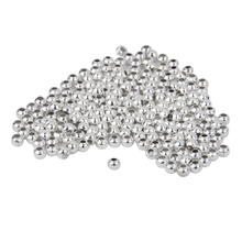 1000Pcs Smooth Round Metal Spacer Beads Loose Bead Charms for DIY Jewelry Making Findings