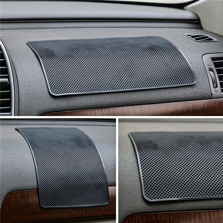 1PCS 27x15cm Anti-Slip Mat for Mobile Phone mp4 Pad GPS Anti Slip Car Sticky Anti-Slip Mat Work Perfectly as Charm anti slip mat vehicle car anti slip mat pad black 19 x 14cm