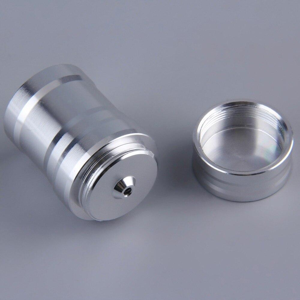 1 шт. Портативный мини 10 мл лампа горелки для спирта Алюминий случае нагревательное лабораторное оборудование