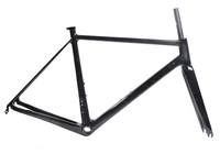 Costelo Marbling UD carbon weave Road carbon bicycle frame fork with seatpost 700c light carbon bike frameset
