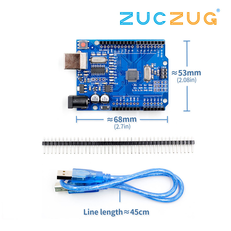 high quality One set UNO R3 CH340G+MEGA328P Chip 16Mhz For Arduino UNO R3 Development board + USB CABLEhigh quality One set UNO R3 CH340G+MEGA328P Chip 16Mhz For Arduino UNO R3 Development board + USB CABLE