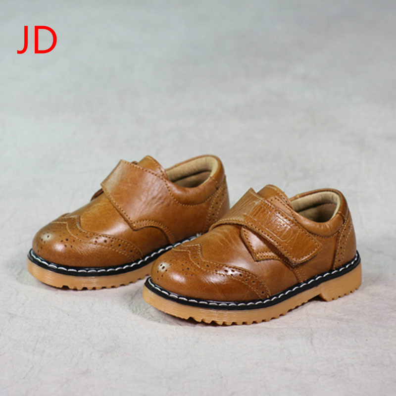 JD New Boy Baby Soft Bottom Shoes Childrens Shoes Leather Shoes Casual Shoes