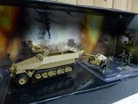 1:72 World War II American Military Truck Alloy Car Model 85210 Men Machines