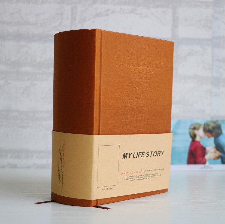 Mon histoire de vie dictionnaire épais Design Super épais vie journal livre carnet B5 B6 1100 Pages carnet de croquis