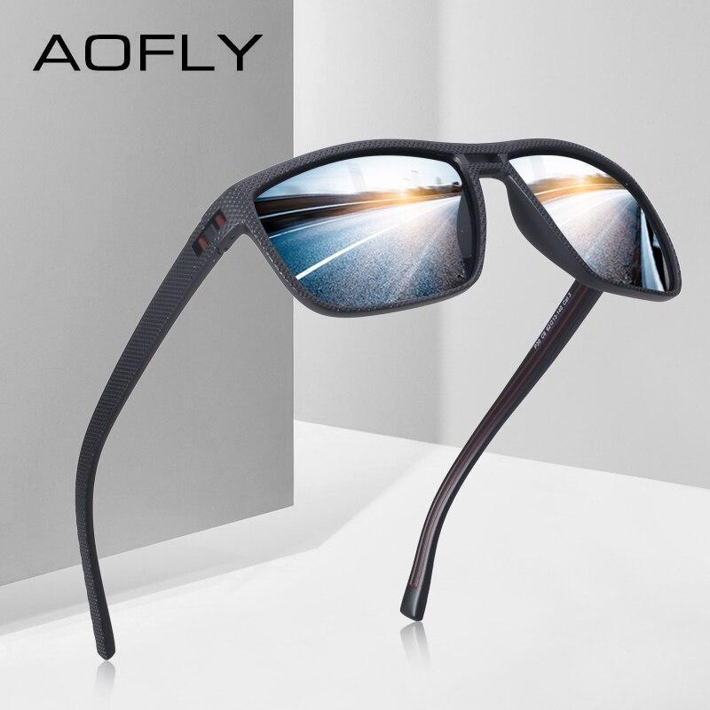 AOFLY мода Для мужчин поляризованных солнцезащитных очков мужской вождения солнцезащитные очки для Для мужчин HD полароид линзы солнцезащитн...