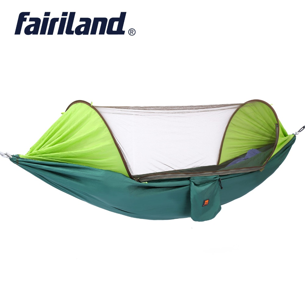 Mosquito Net Hanging Bed Easy installation Hammock Parachute Ultralight Outdoor Camping Swing 2 sizes Portable Leisure
