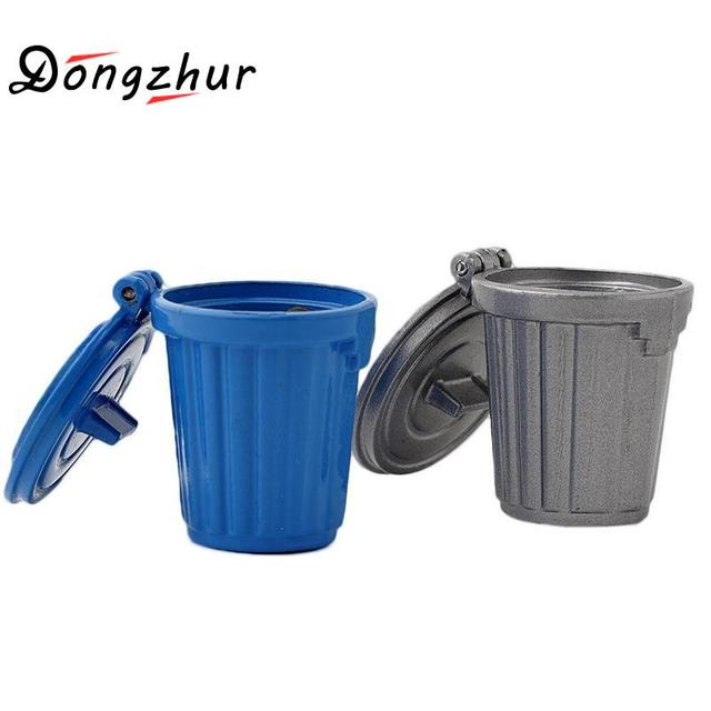 trash can furniture dongzhur mini trash can toys 112 doll house accessories simulation furniture model toy for