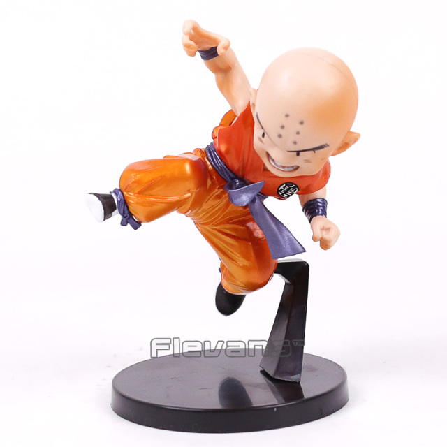 Dragon Ball SCultures Krillin Figure Metallic Color ver. PVC Figure Collectible Model Toy 12.5cm