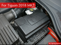 For VW Tiguan MK2 2016 2017 2018 Car Positive And Negative Battery Electrode Waterproof Dustproof Protective