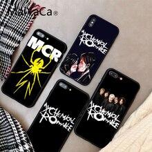 MaiYaCa My Chemical Romance Ультратонкий чехол для телефона с мультяшным рисунком для iphone 8 8 plus и 7 7 plus 6s 6s Plus 6 6 plus 5s