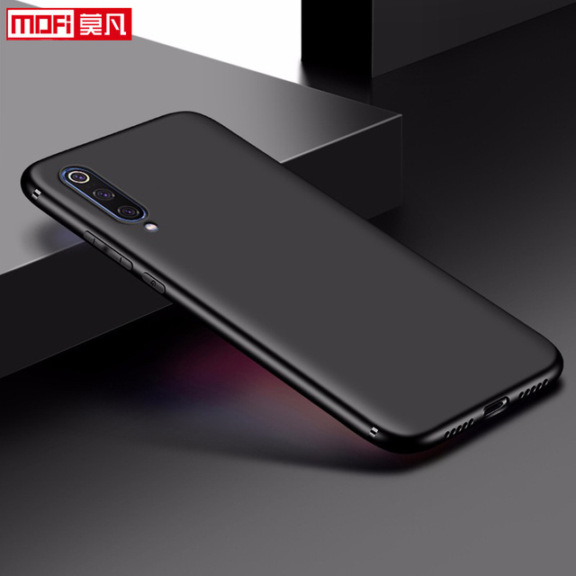 "matte case for xiaomi mi 9 case xiaomi mi9 cover soft back silicon slim 6.39"" xiaomi mi 9 explorer coque matte ultra thin case"