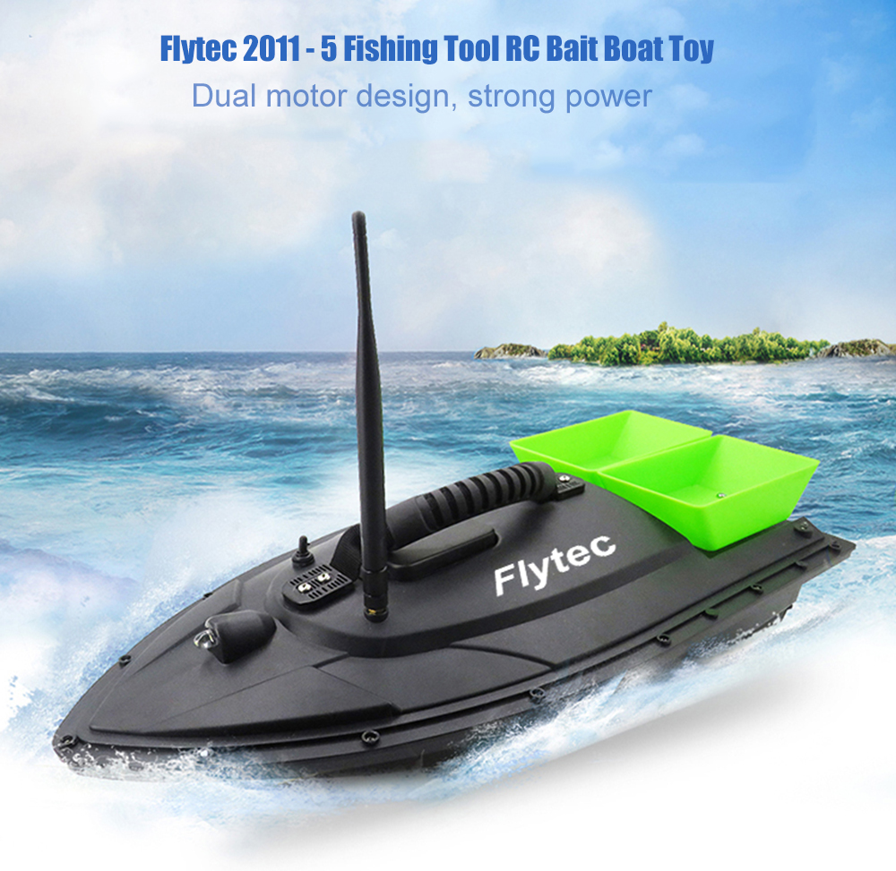 Flytec 2011-5 Fish Finder Fish Boat Fishing Tool Smart RC Bait Boat Toy Remote Control Fishing Lure Bait Boat SpeedboatFlytec 2011-5 Fish Finder Fish Boat Fishing Tool Smart RC Bait Boat Toy Remote Control Fishing Lure Bait Boat Speedboat